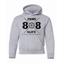 Freshman Class Of 88 Hoodie -Gray-xlarge