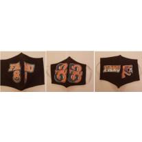 FAMU GREAT 88 COTTON MASK BLACK 3 PACK - WOMENS-SMALL