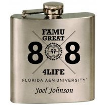 FAMUFRESH88 FLASK ENGRAVED