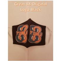 FAMU GREAT 88 COTTON MASK ORIGINAL LOGO-BLACK - MENS-LARGE