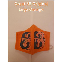 FAMU GREAT 88 COTTON MASK ORIGINAL LOGO - MENS-LARGE