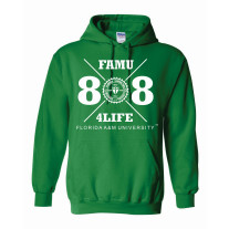 freshman class of 88 hoodie green medium