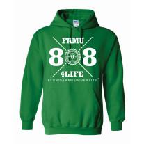 freshman class of 88 hoodie green xlarge