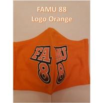 FAMU GREAT 88 COTTON MASK LOGO - WOMENS-SMALL