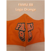 FAMU GREAT 88 COTTON MASK LOGO - MENS-LARGE