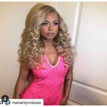 "Blonde Ambition Full Lace - 8"" Body Wave"