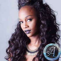 Alpha Collection - Medium Curl Brazilian 24""