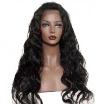 Lace Frontal - 20-inch Natural Wavy