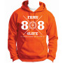 freshman class of 88 hoodie orange medium