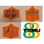 FAMU GREAT 88 ORIGINAL COTTON MASK 3 PACK - WOMENS-SMALL